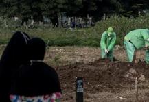 60%感染,群体免疫正成事实!印尼首都3月葬礼暴增40%
